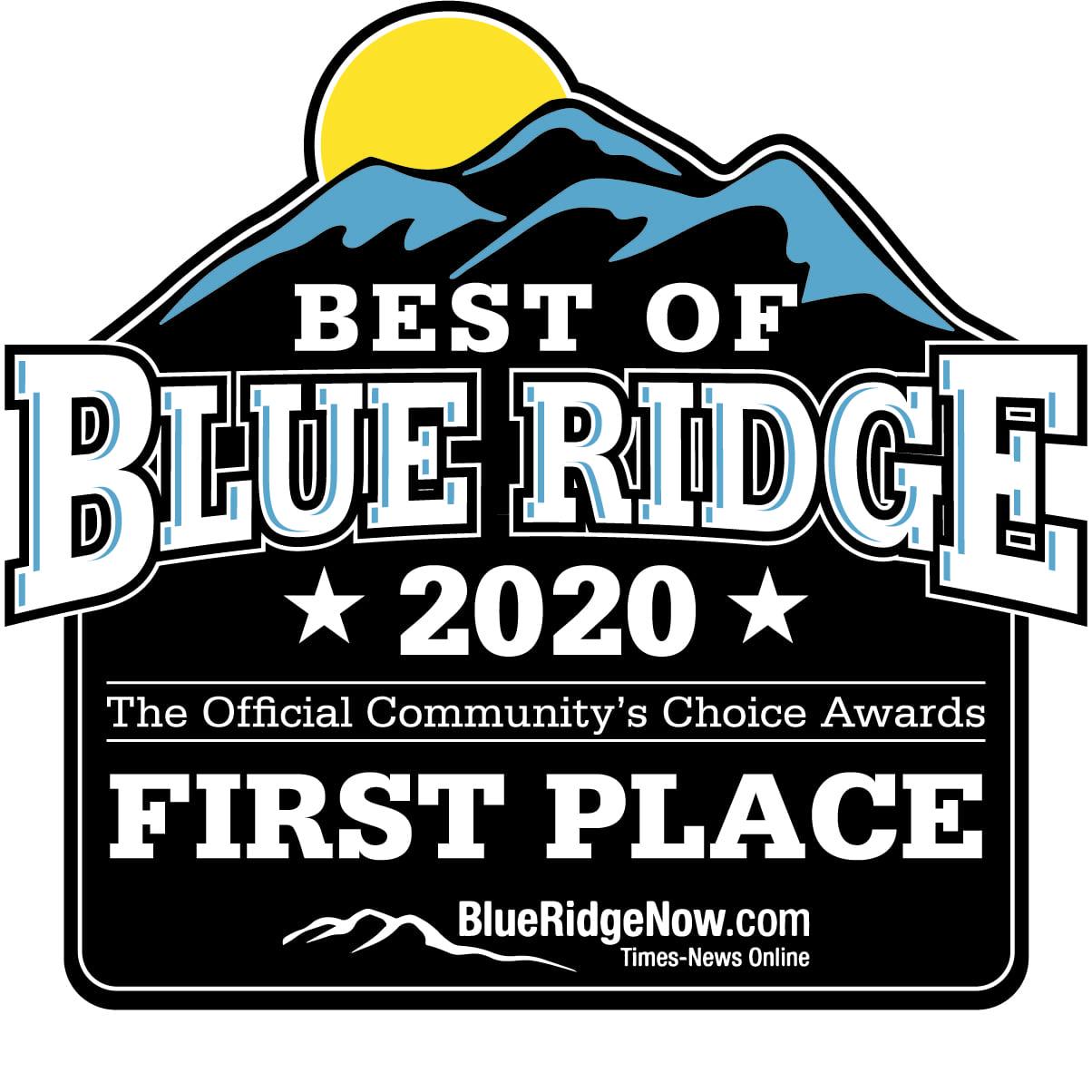 Blueridge Award Logo 2020